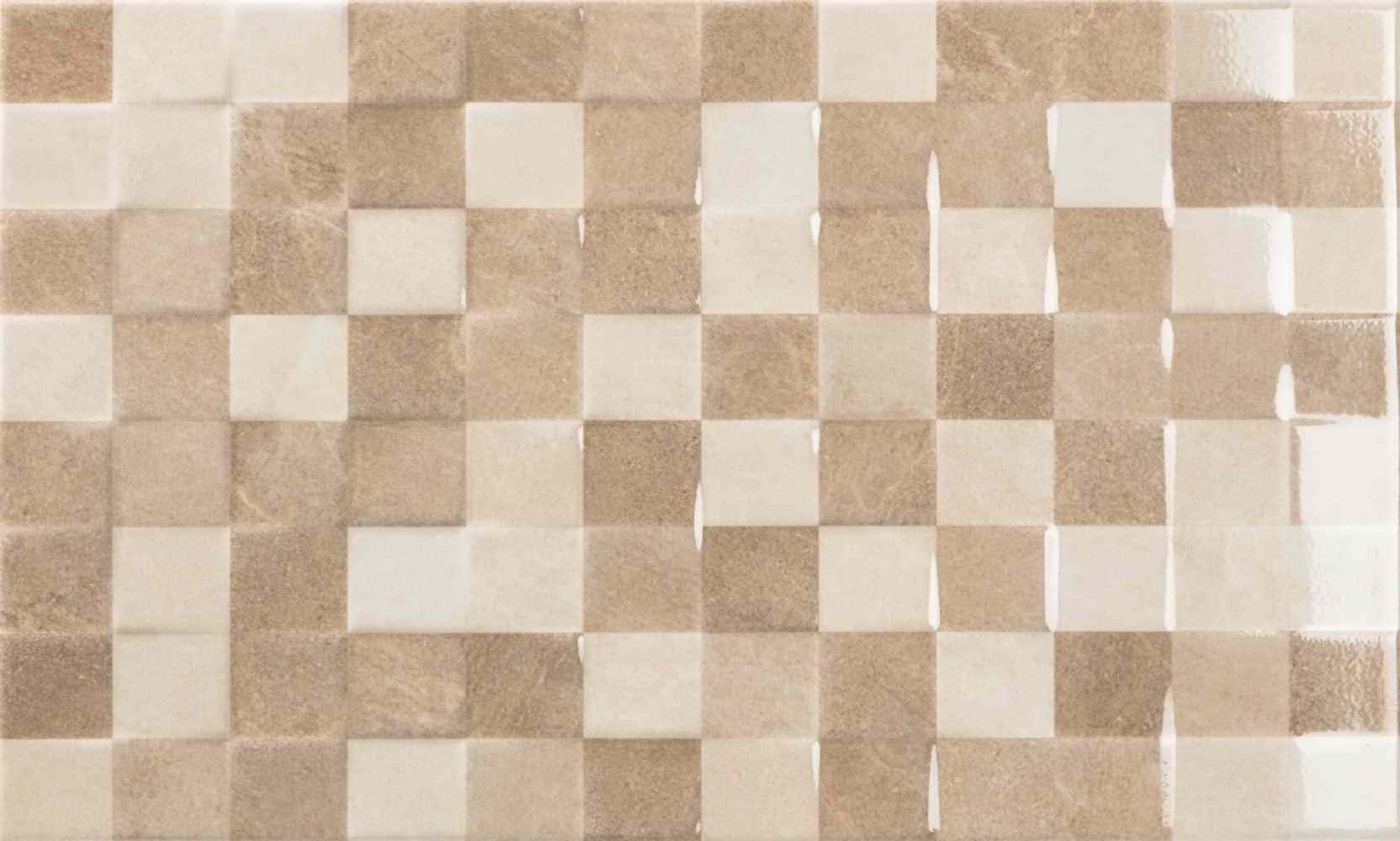 Faianță Ecoceramic Origami Relief Taupe 333x550 lucioasă mixate / 10