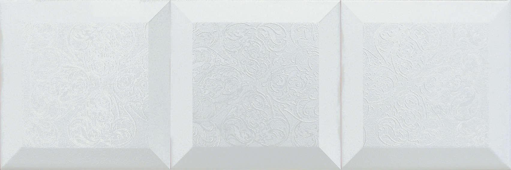 Faianță pentru baie Absolut Keramika Vintage Decor Blanco 150x450 satin alb / 15