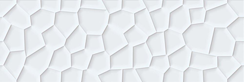 Faianță pentru baie Undefasa Colorgloss Blanco Honey 250x750 lucioasă alb / 7