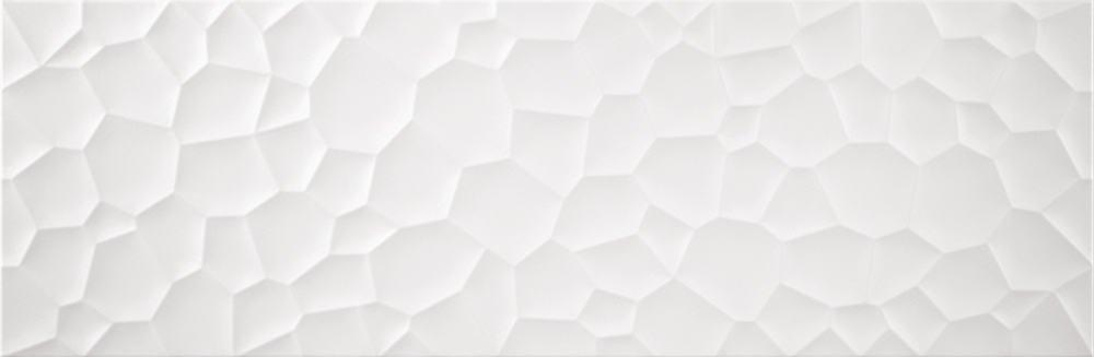 Faianță pentru baie Benadresa Relief Scales 333x1000 alb / 4