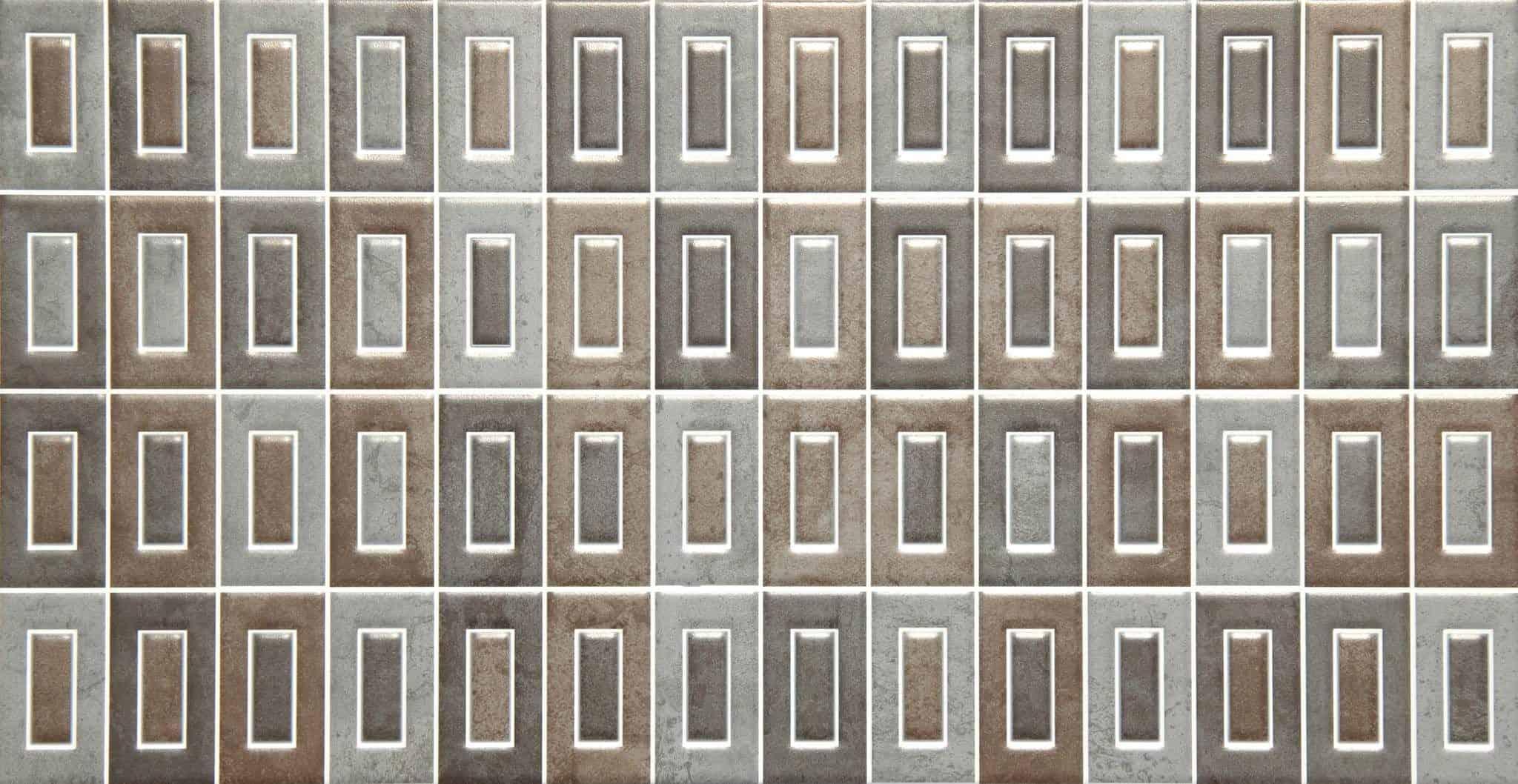Faianță pentru baie Saloni Sound Mosaico Iris 310x600 mată mixate / 5