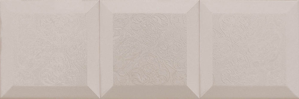 Faianță pentru baie Absolut Keramika Vintage Decor Crema 150x450 satin alb / 15