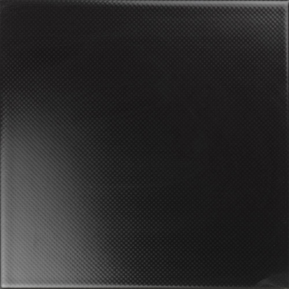 Faianță pentru baie Ceramica Cas Black & White Negro 200x200 satin negru / 25