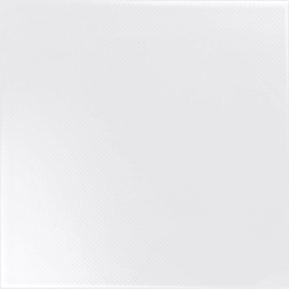 Faianță pentru baie Ceramica Cas Black & White Blanco 200x200 satin alb / 25