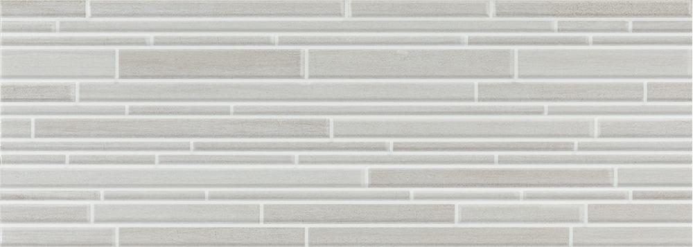 Faianță pentru baie Pamesa Atrium Aries Relief Ceniza 250x700 texturată și satin gri / 9
