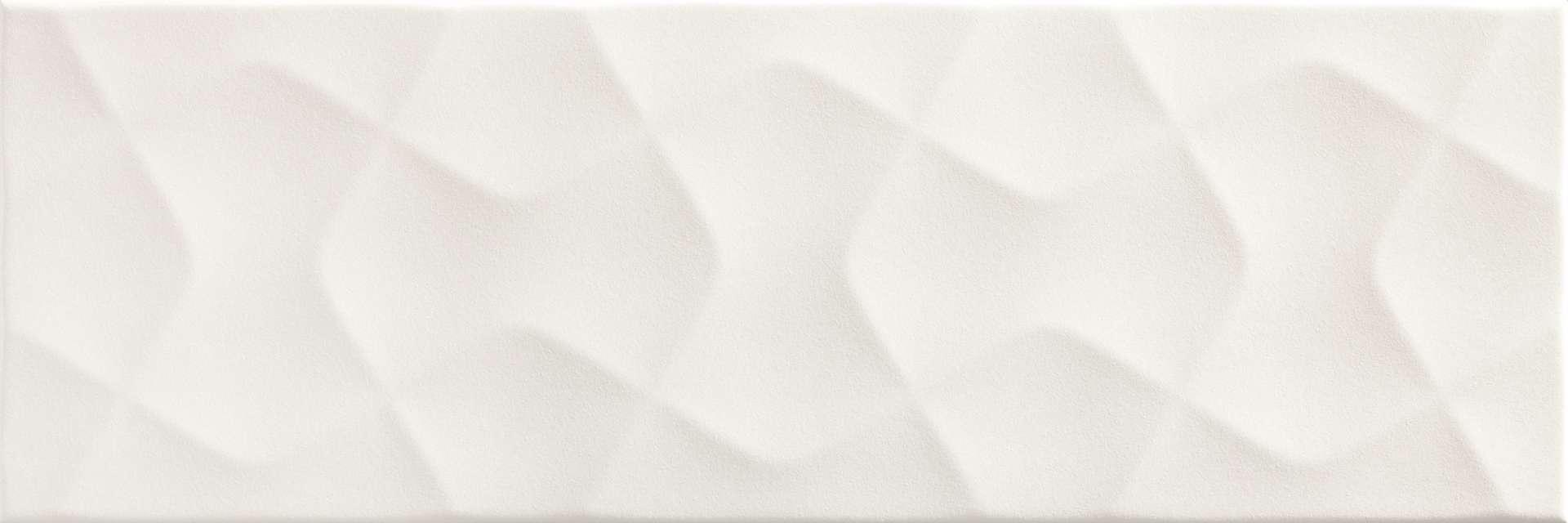 Faianță pentru baie Pamesa Garten Blanco Mat 200x600 texturată și lucioasă alb / 9