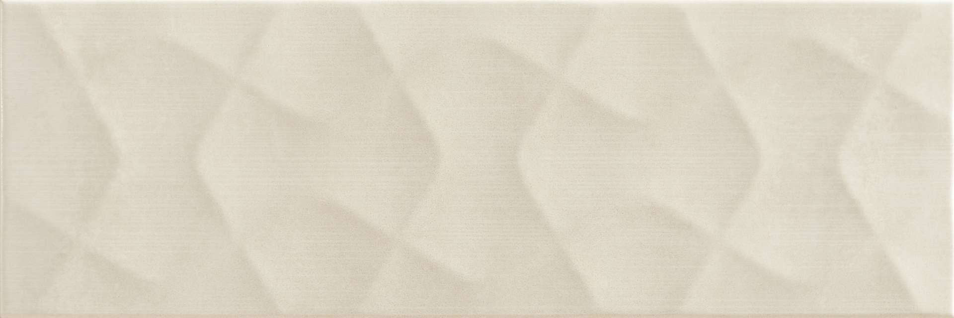 Faianță pentru baie Pamesa Potsdam Relief Blanco 200x600 texturată și satin bej / 9