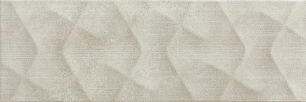Faianță pentru baie Pamesa Potsdam Relief Ceniza 200x600 texturată și satin gri / 9