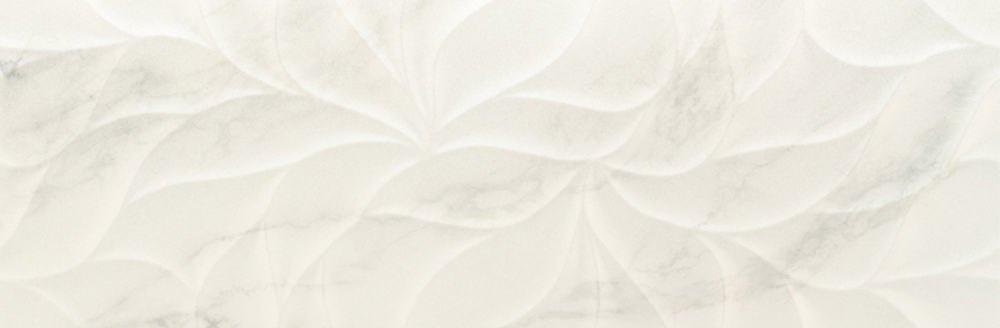 Faianță pentru baie Benadresa Cascais Leaves 300x900 lucioasă alb / 4