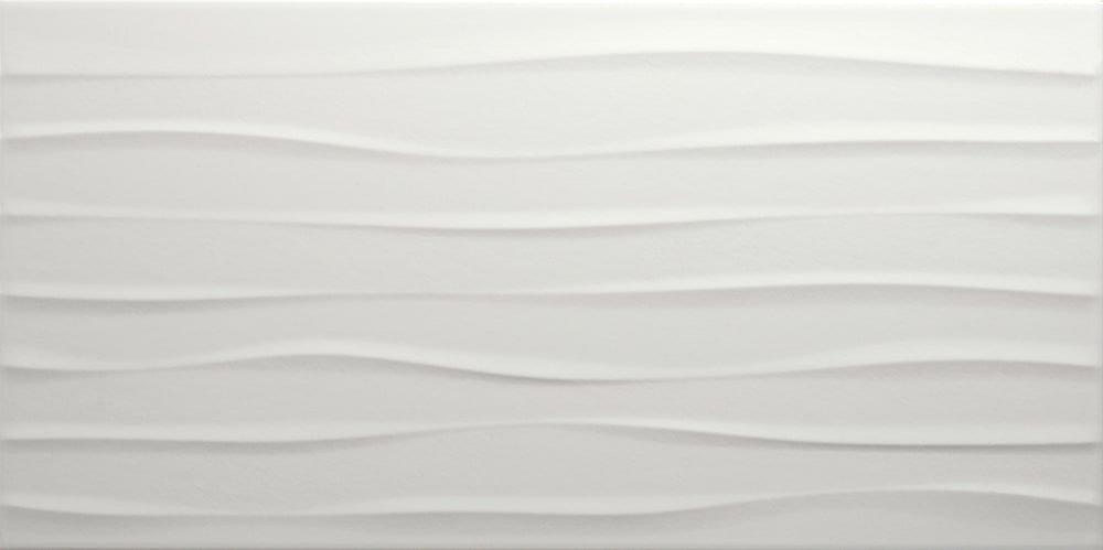 Faianță pentru baie Pamesa Cowan Relief Snow 303x605 texturată și satin gri / 7