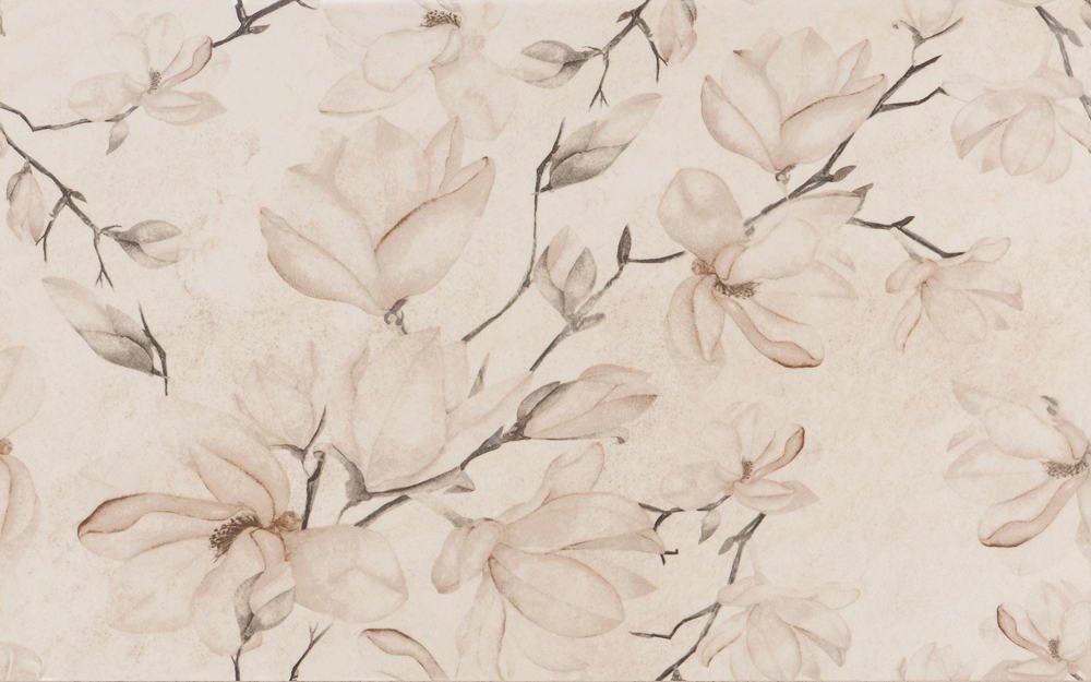 Decor Cersanit Matilda Decor Flower 250x400 mată bej / 10