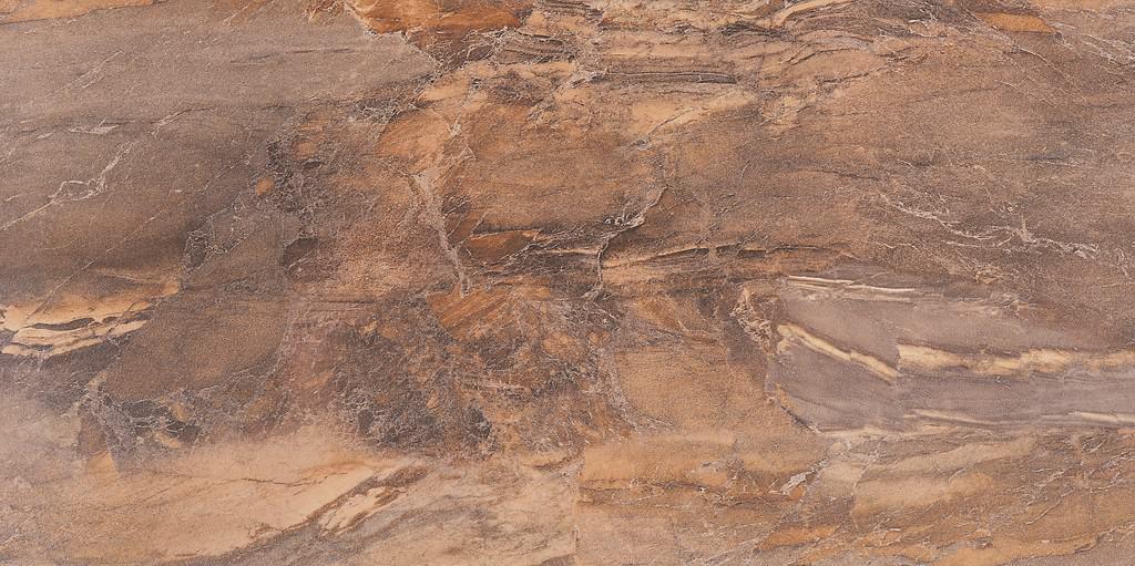 Teracota pentru baie Opoczno Elega Brown 297x600 Lucioasă Maro