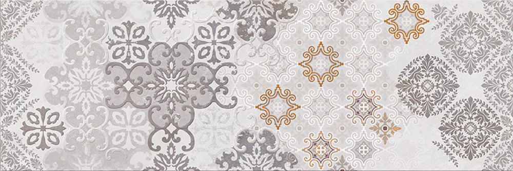 Faianță pentru baie Opoczno Mystery Land Decor Mosaic 200x600 mată gri / 6