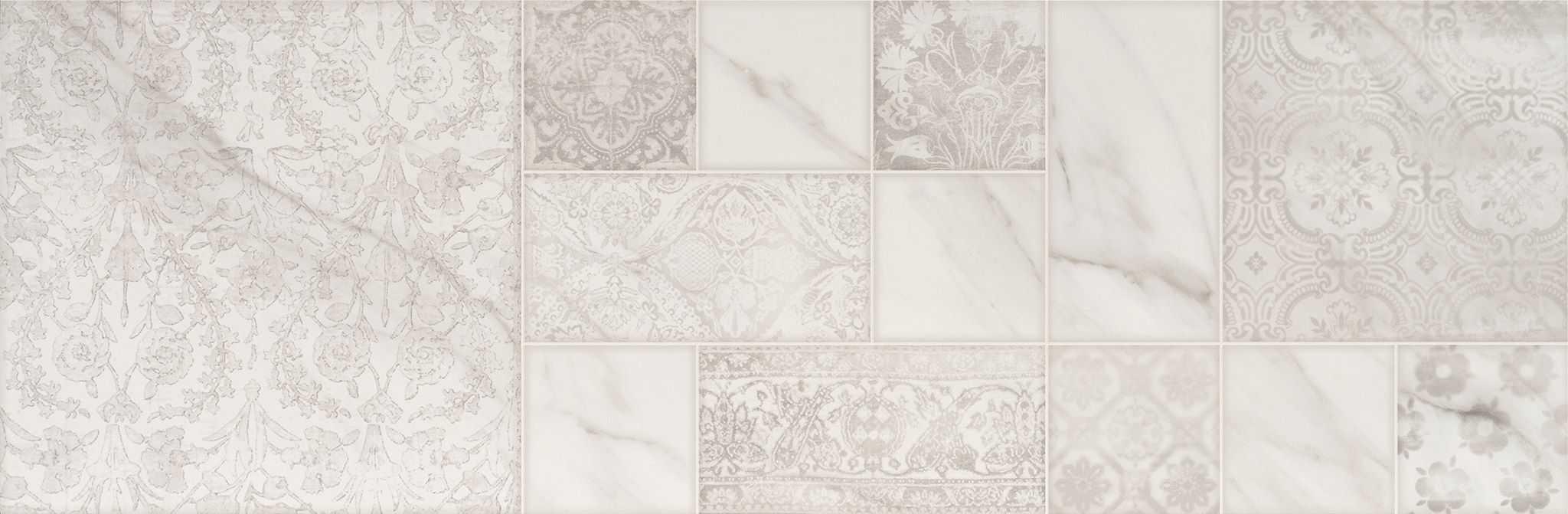 Faianță pentru baie Saloni Agora Naxos Blanco 300x900 lucioasă alb / 4