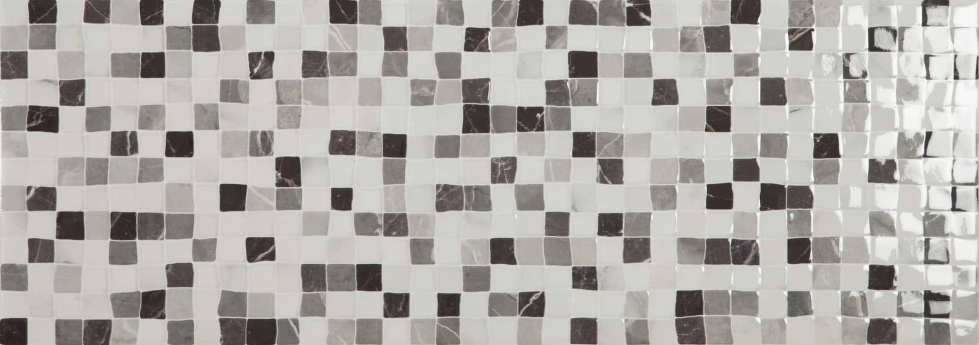 Faianță pentru baie Ecoceramic Venezia Calacatta Tesela Calacata 250x700 texturată și lucioasă alb / 9