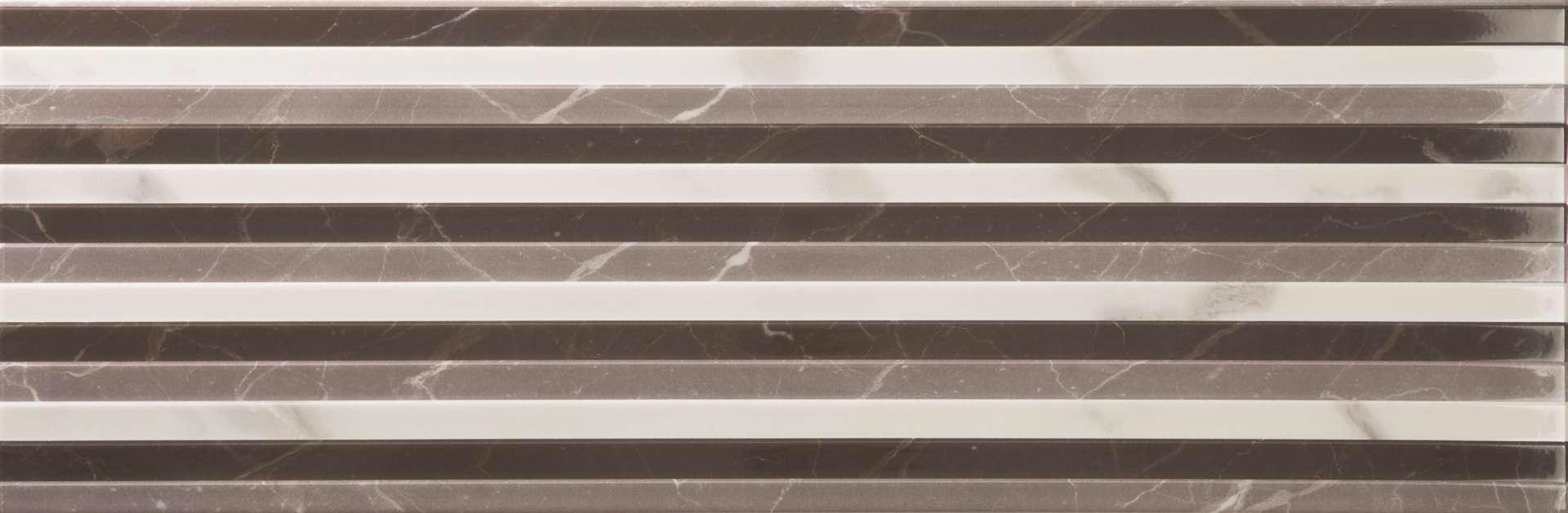 Faianță pentru baie Ecoceramic Casablanca Relief 300x900 texturată și lucioasă alb / 6