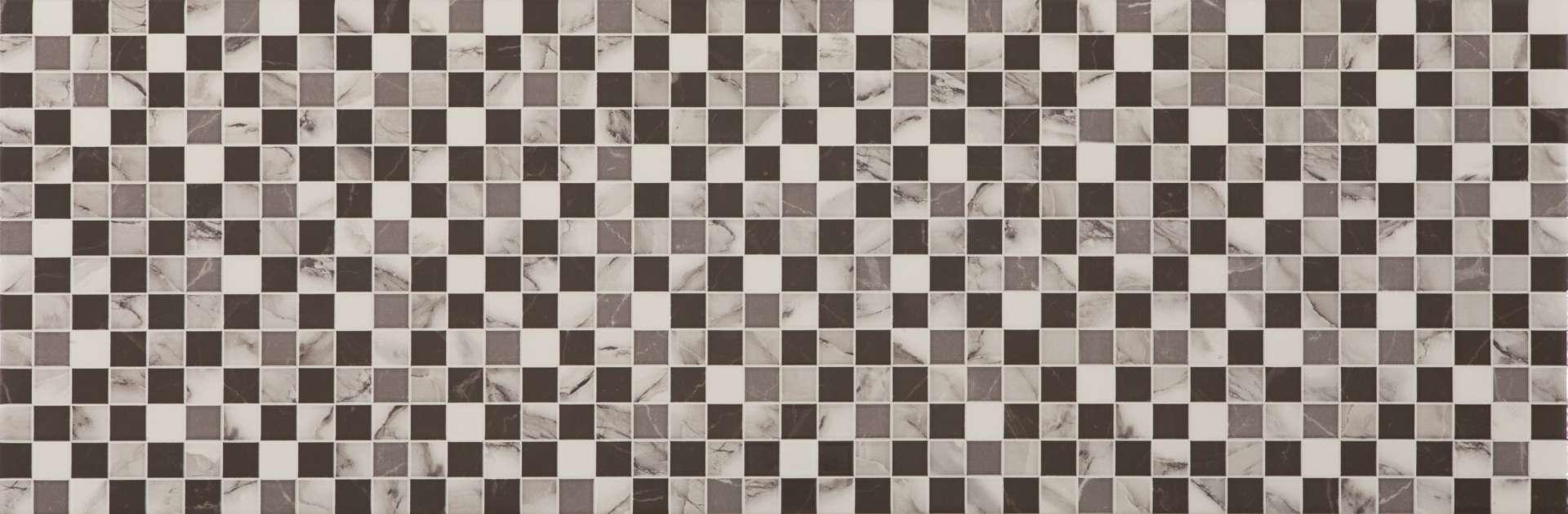 Faianță pentru baie Ecoceramic Casablanca Casablanca Decor 300x900 texturată și lucioasă alb / 6