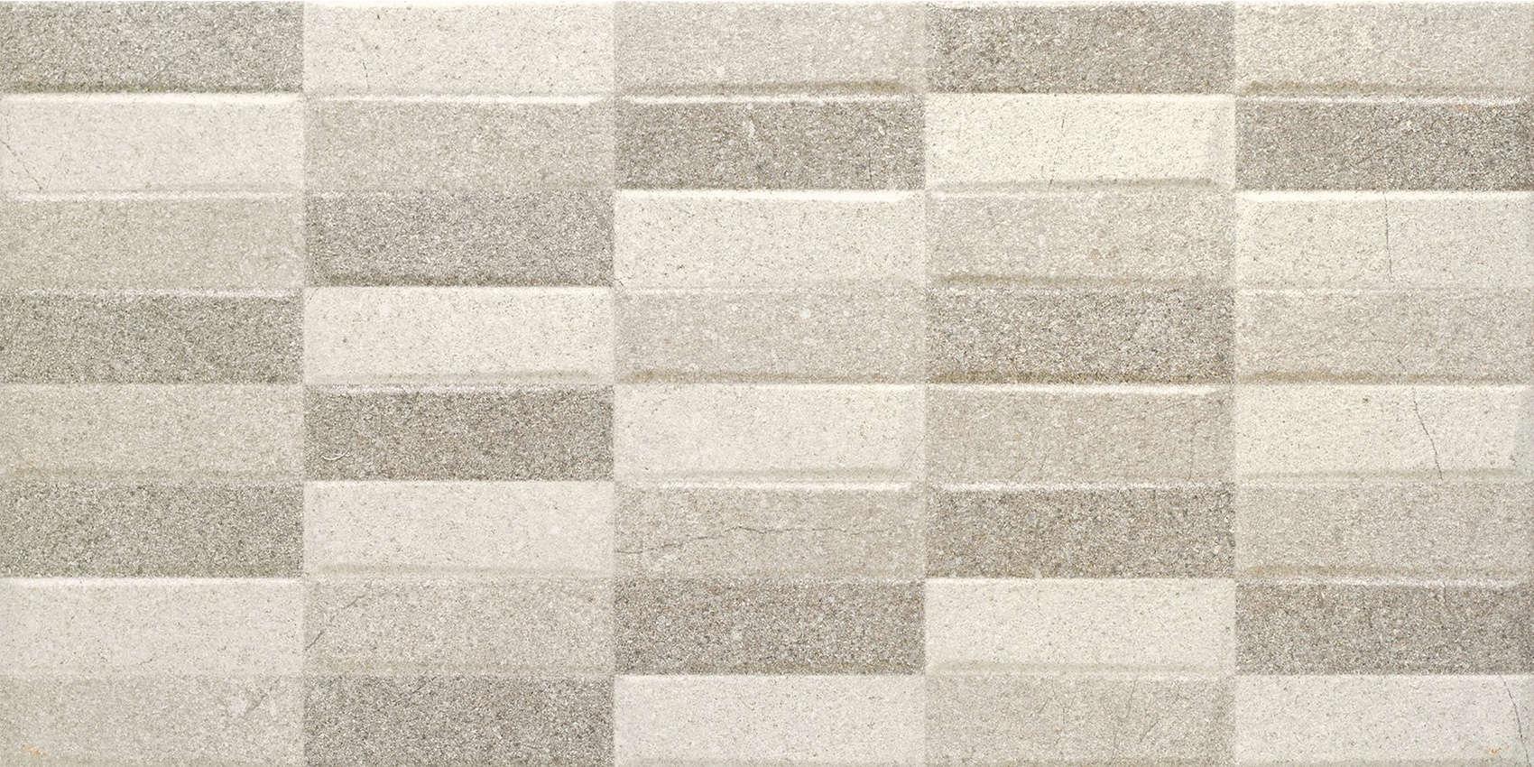 Faianță pentru baie Benadresa Crowne Rotin Ivory 316x632 texturată și mată gri / 7