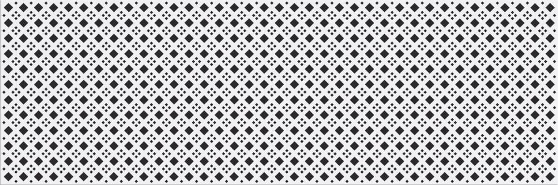 Faianță pentru baie Cersanit Black&White Pattern D 200x600 mată mixate / 9