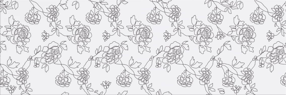 Faianță pentru baie Cersanit Black&White Pattern B 200x600 mată mixate / 9