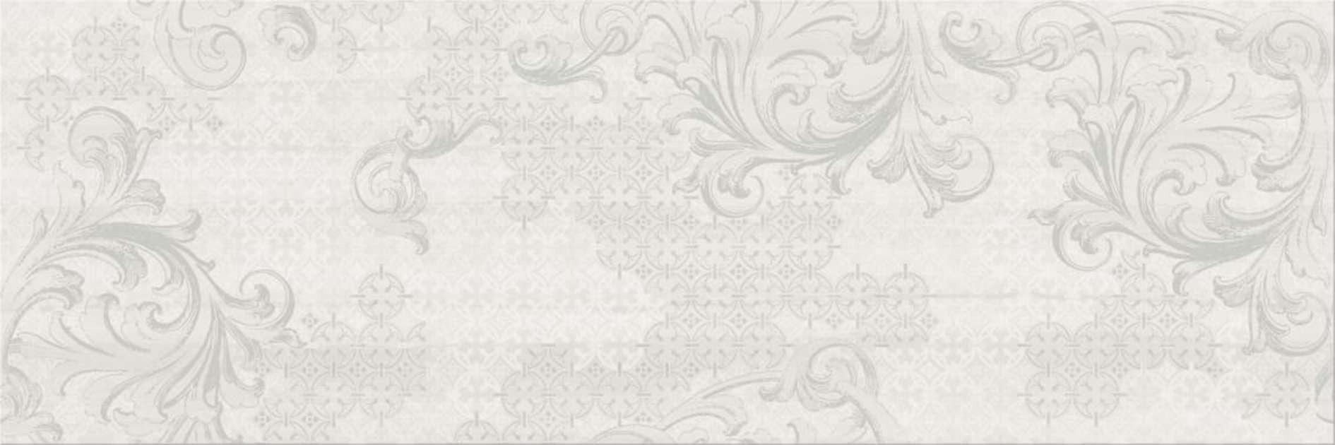Faianță pentru baie Cersanit Greys Decor 200x600 lucioasă gri / 6