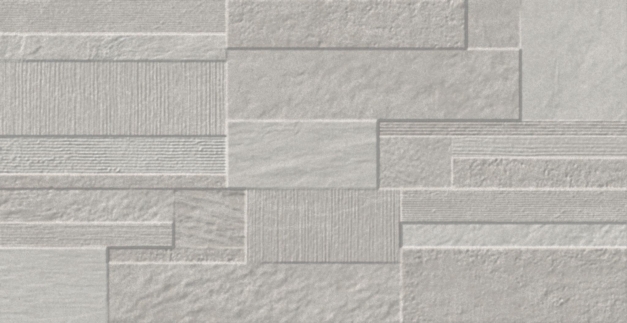 Faianță pentru baie Saloni Move Shake Gris 310x600 texturată și mată gri / 5