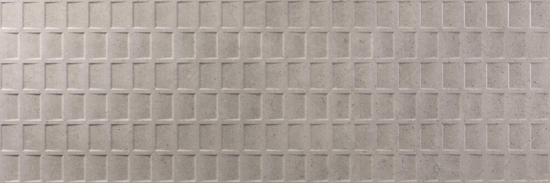 Faianță pentru baie Ecoceramic Flagstone Perla Decor 400x1200 mată gri / 3