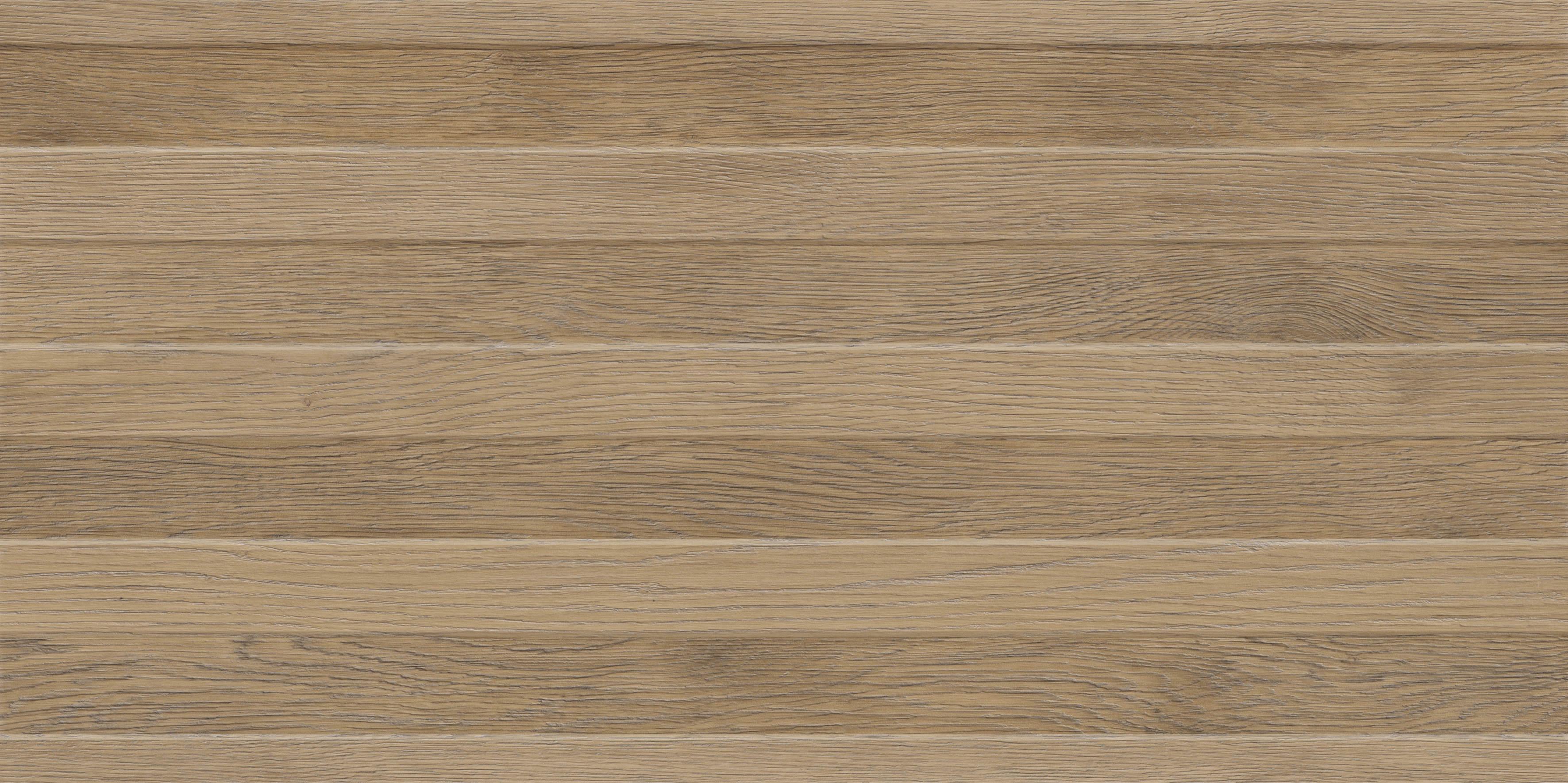 Faianță pentru baie Opoczno Paula Wood Structure 297x600 texturată și mată maro / 7