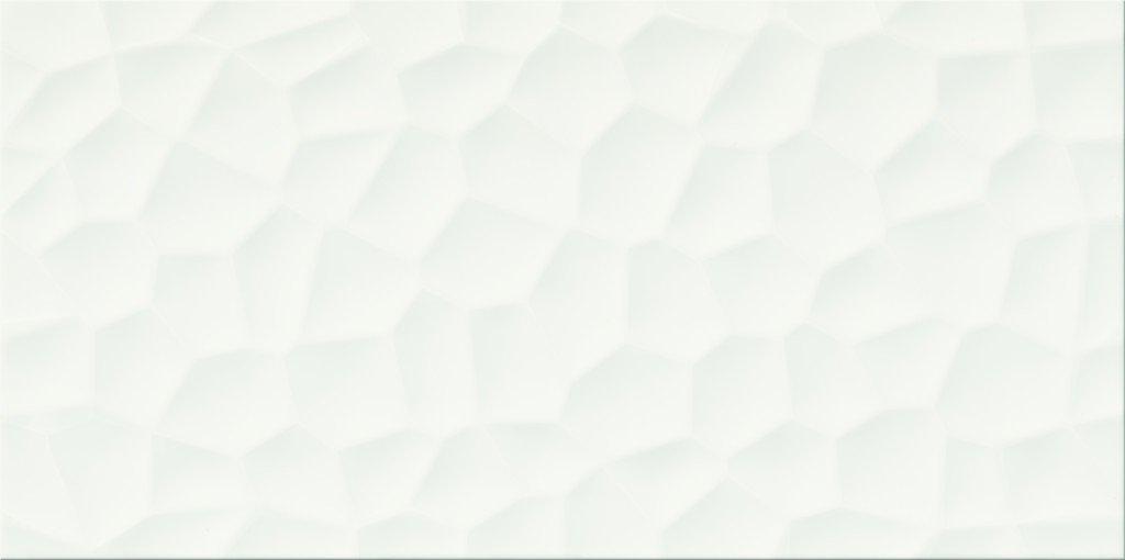 Faianță pentru baie Opoczno Flake White Structure 297x600 texturată și mată alb / 7