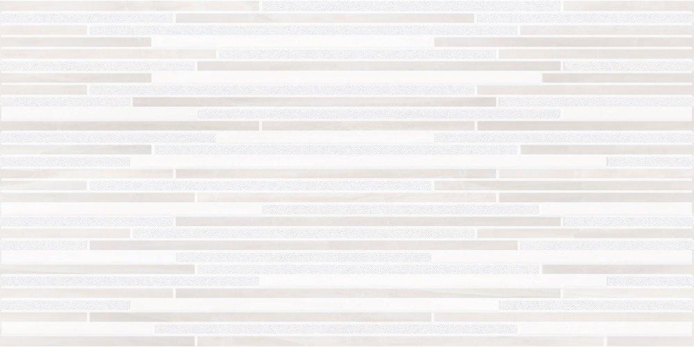 Faianță pentru baie Opoczno Vivienne Decor 297x600 lucioasă gri / 6