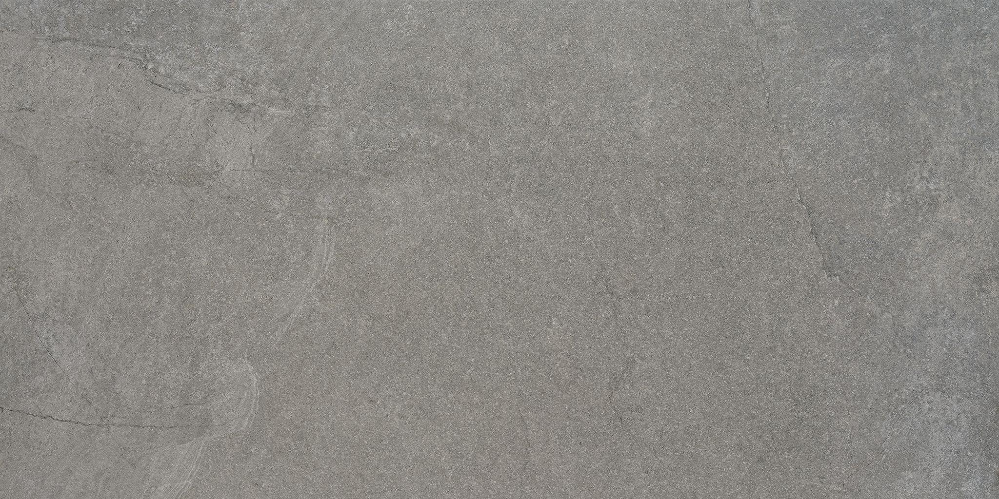 Faianță pentru baie Saloni Quarz Gris Lappato 600x1200 semi-lustruită gri / 2